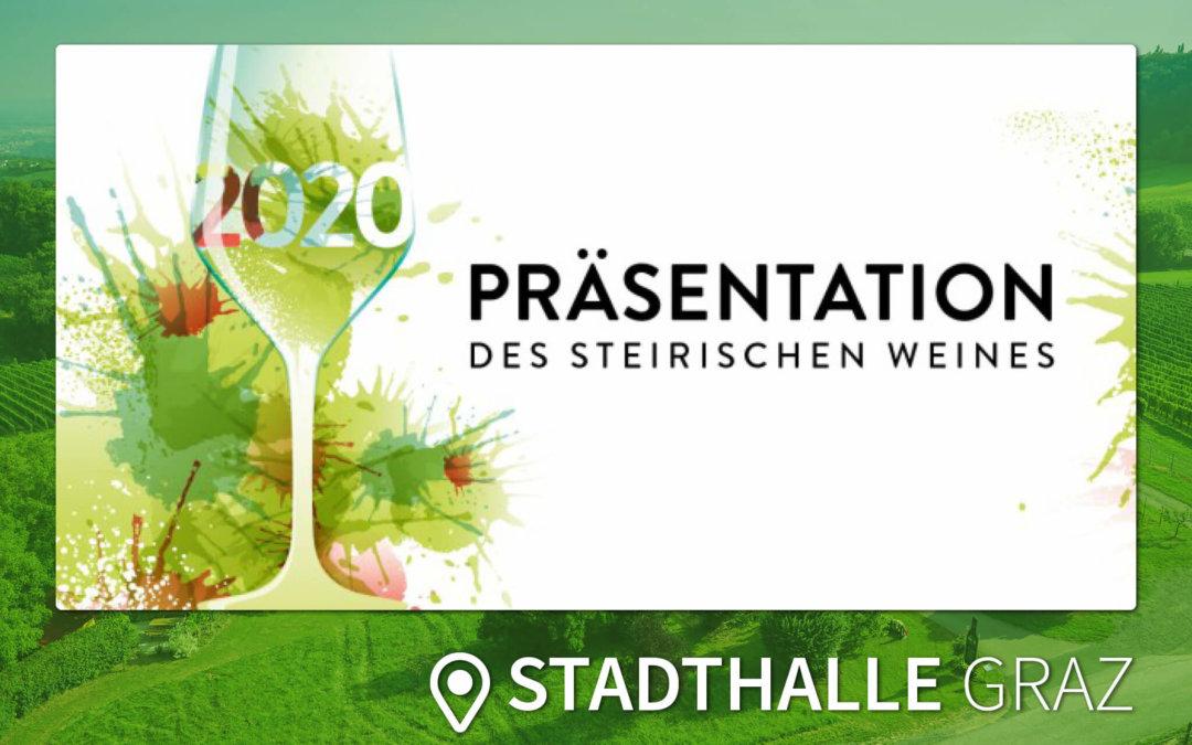 ABGESAGT: Präsentation des Steirischen Weines | GRAZ